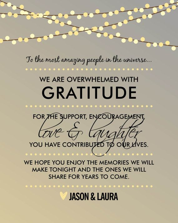 Thank You Message For Wedding Guests : thank, message, wedding, guests, Printable, Wedding, Thank, Lights, Themunch, Cards,, Wording,, Quotes