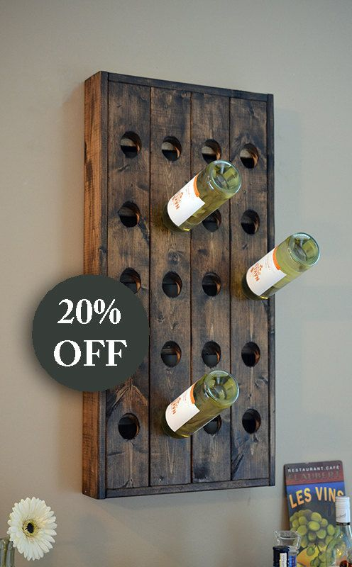Wine Rack Etsy Collection By The Urbanist Lab Wine Rack Wall