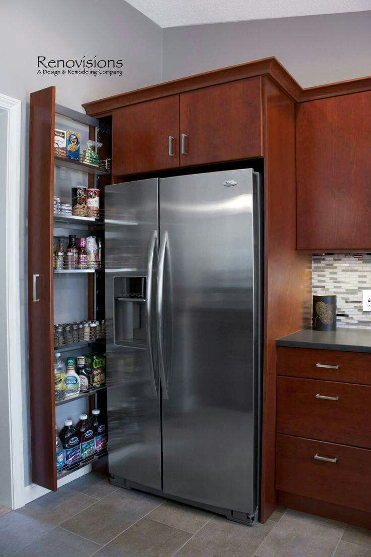 Best Of Narrow Pull Out Pantry Cabinet