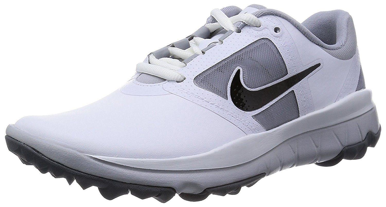 1eab4de202048 NIKE Golf Womens Fi Impact Golf Shoe White/Grey/Black 9.5 BM US ...