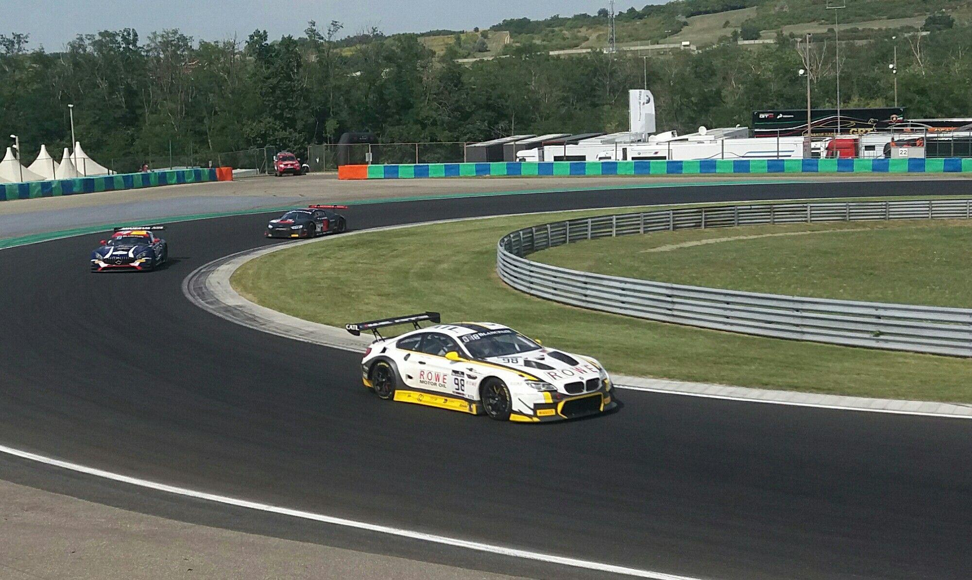 BLANCPAING GT HUNGARORING 2017 BMW M6 GT3 ROWE RACING