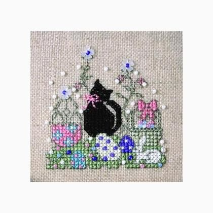Itty Bitty Kitty - Easter by The Sweetheart Tree