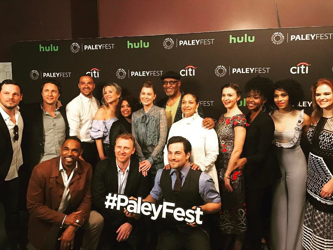 Grey\'s Anatomy cast at PaleyFest | Television Addiction. | Pinterest ...