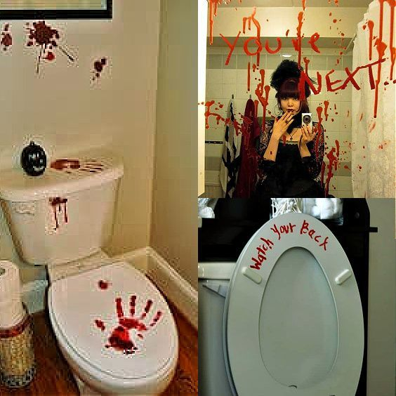 Easy Cheap DIY Dollar Store Halloween Bathroom Decorations That Are Scary For The Home Or Apartment