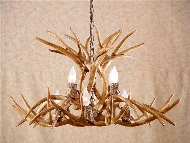 Antler lighting antler chandelier kit stain for custom diy antler deer antler chandelier antler chandeliers deer antler lighting mozeypictures Gallery