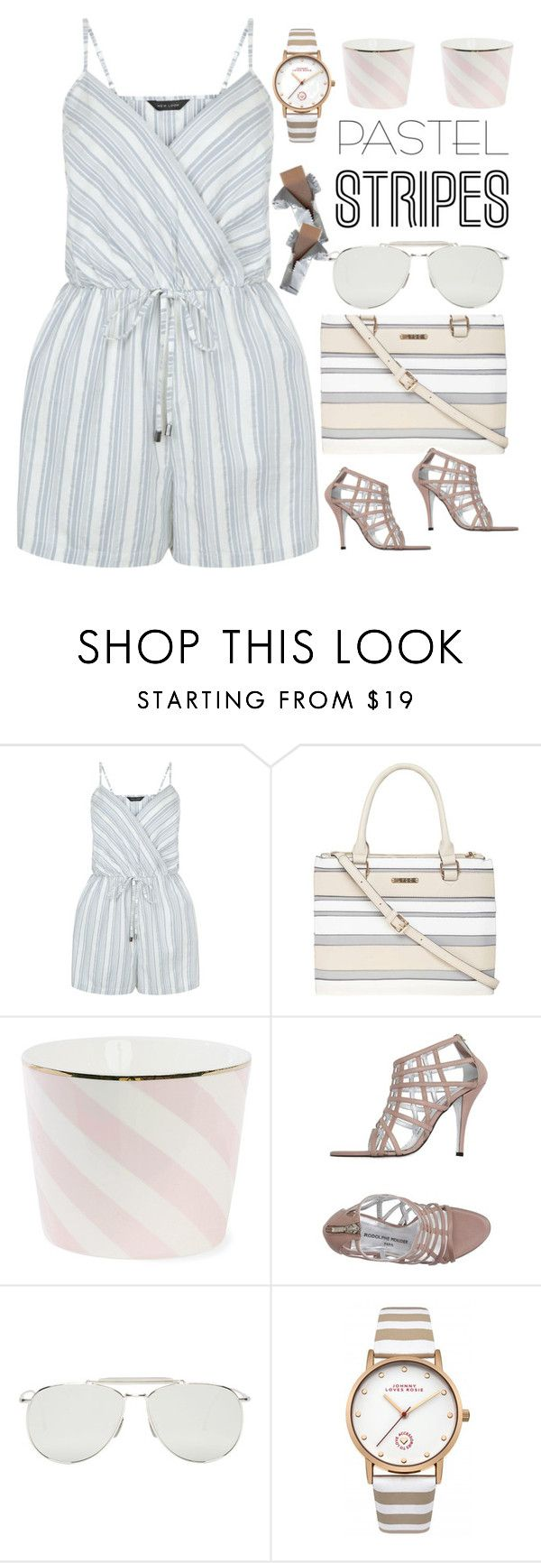 Sophisticated Trend - Pastel Stripes   My Polyvore Finds   Pinterest