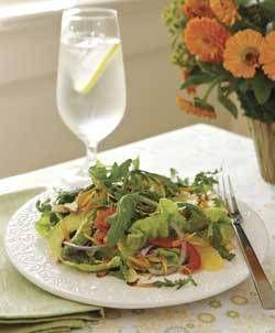 Confetti Salad With Calendula Petals #recipe