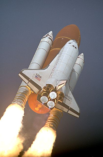 STS-45 Launch Center: KSC | Space shuttle, Space flight, Space travel