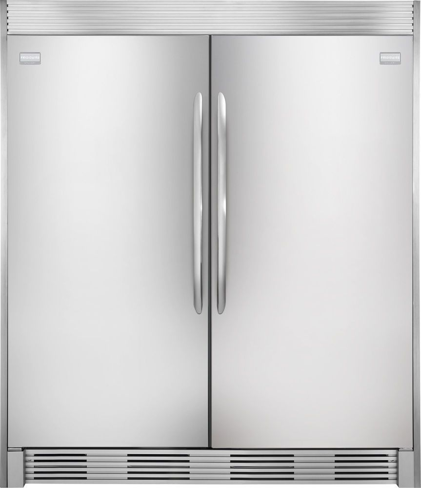 Details About Frigidaire Gallery Stainless Refrigerator Freezer