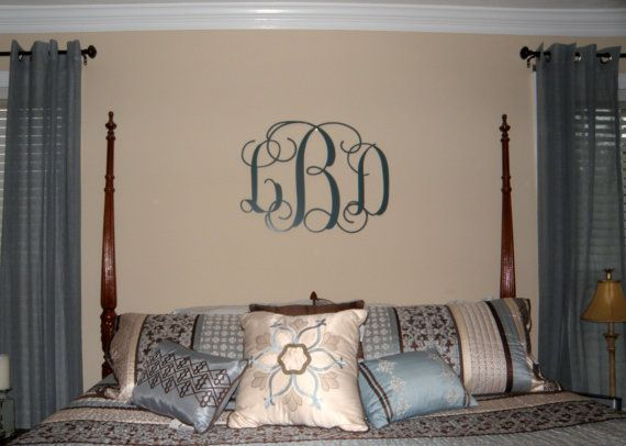 Metal Initials Wall Hanging Magnificent Initials 3 Letter Metal Monogram Powder Coat Finishover 25 Decorating Design
