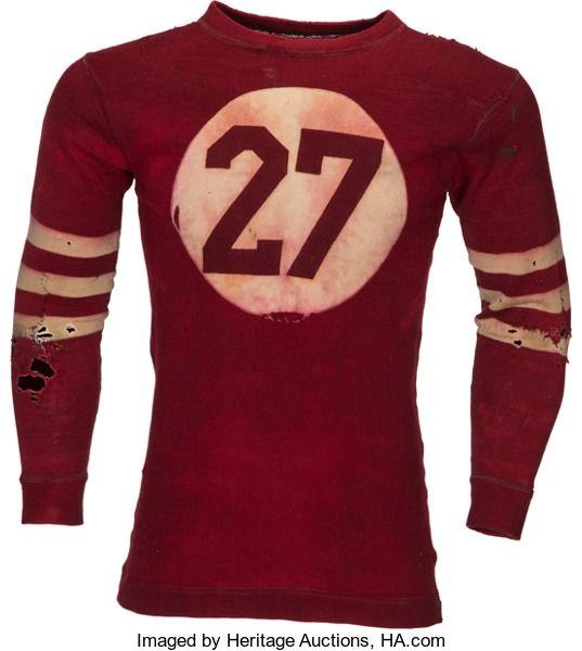 Circa 1920 S Football Jersey Football Uniforms Football Shirts Vintage Football
