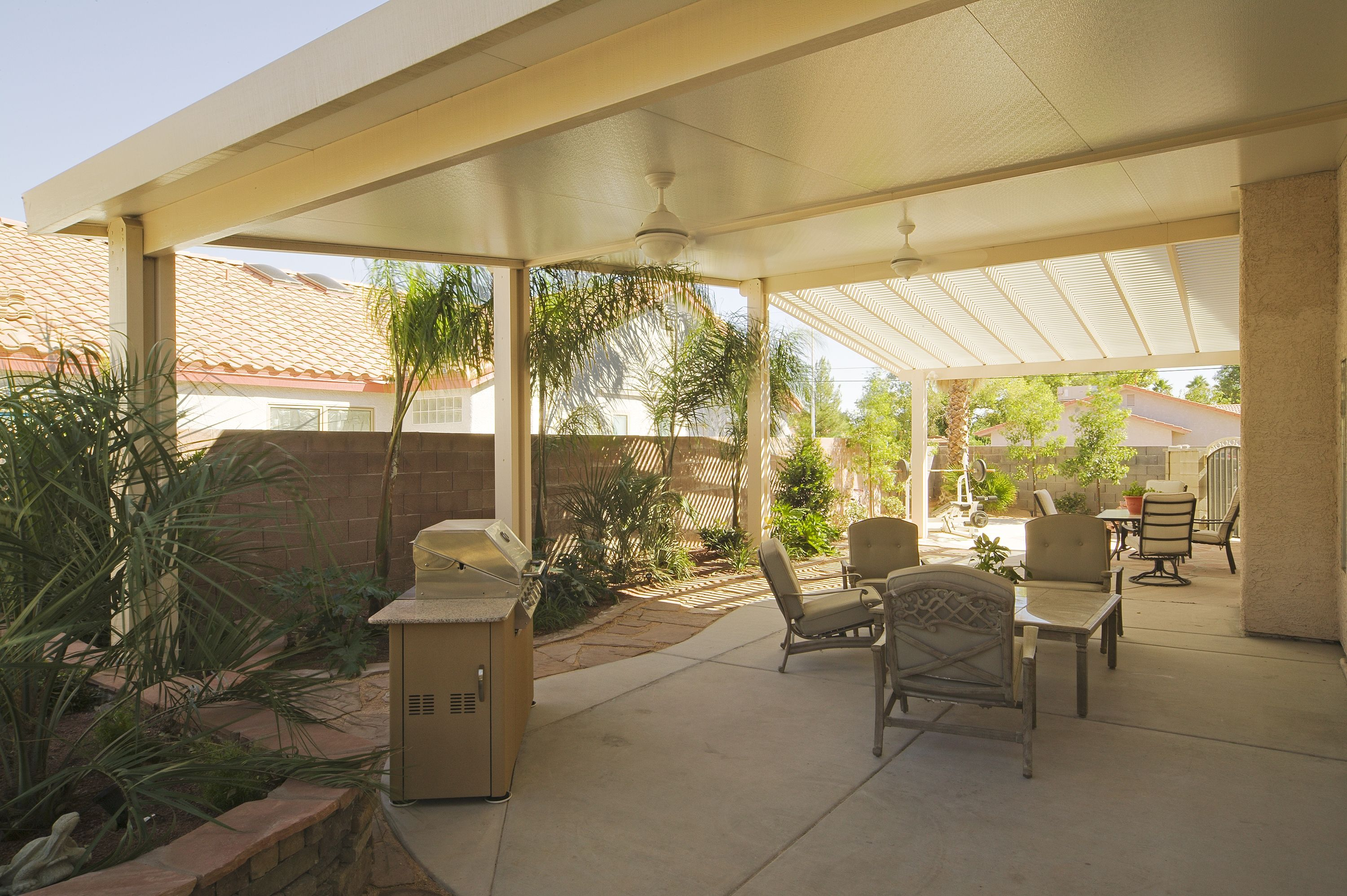 Covered Patio With Aluminum Cover