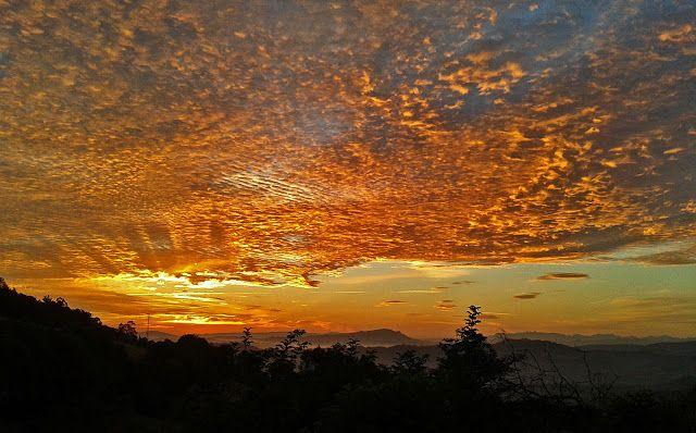 Amanecer en Asturias; Sunrise in Asturias