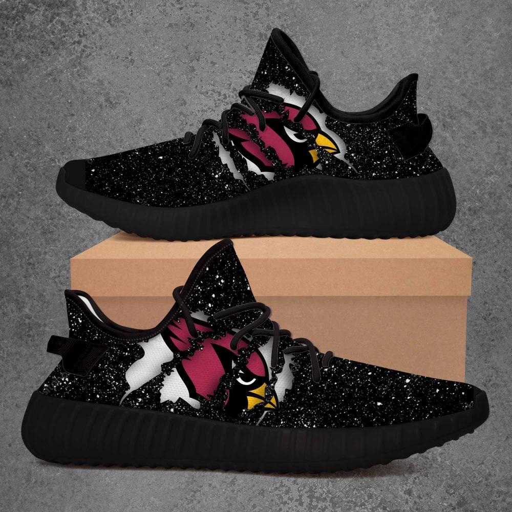Arizona Cardinals Nfl Limited Edition Black Yeezy Sneaker Mononus