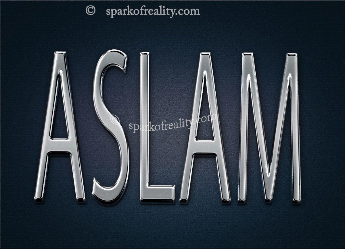 Aslam Name Wallpaper Hd Wallpapers 3d Wallpaper