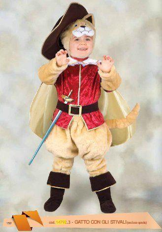 Disfraz de gato con botas para niños DISFRACES Pinterest Botas - trajes de halloween para bebes