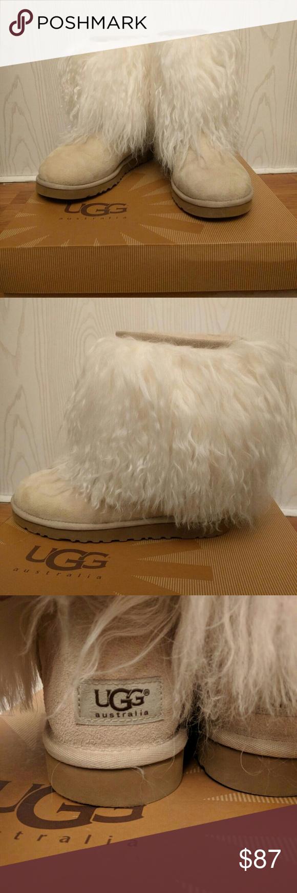 0912b2af4fc Ugg Mongolian Sheepskin 8in Cuff Ugg Mongolian Sheepskin 8in Cuff ...