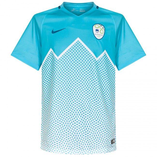 8104c7e9576da Camiseta de Eslovenia 2016-2017 Local  Eurocopa2016  Euro2016