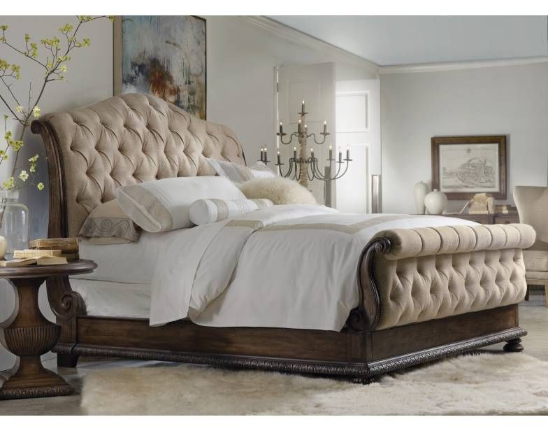 King Tufted 3 PC Bedroom Set | Hooker Furniture | Interiors ...
