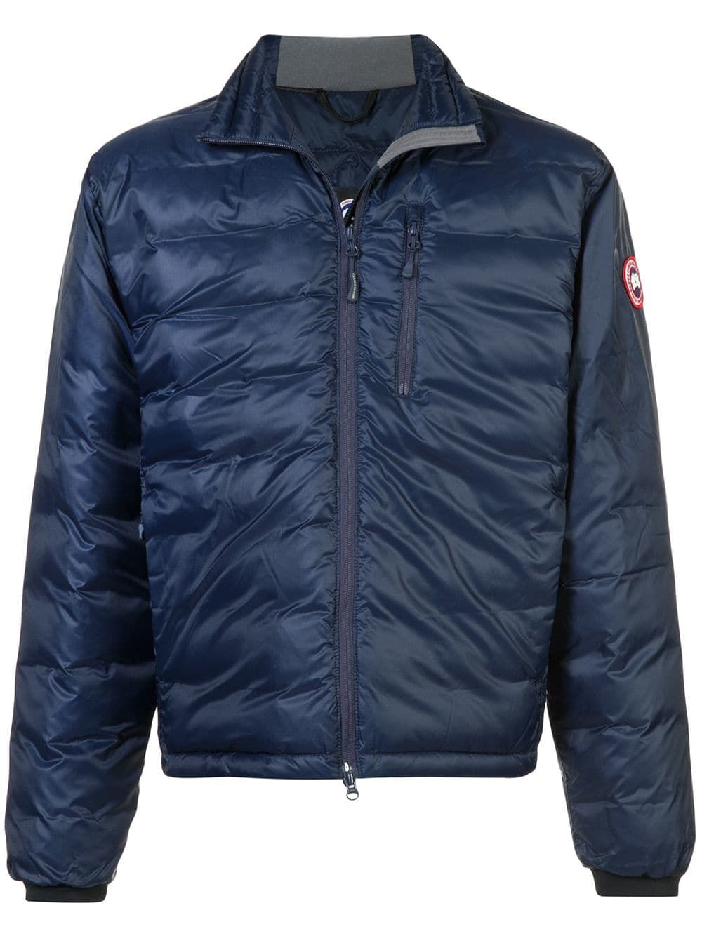 Lodge Jacket In Blue Jackets Canada Goose Mens Canada Goose