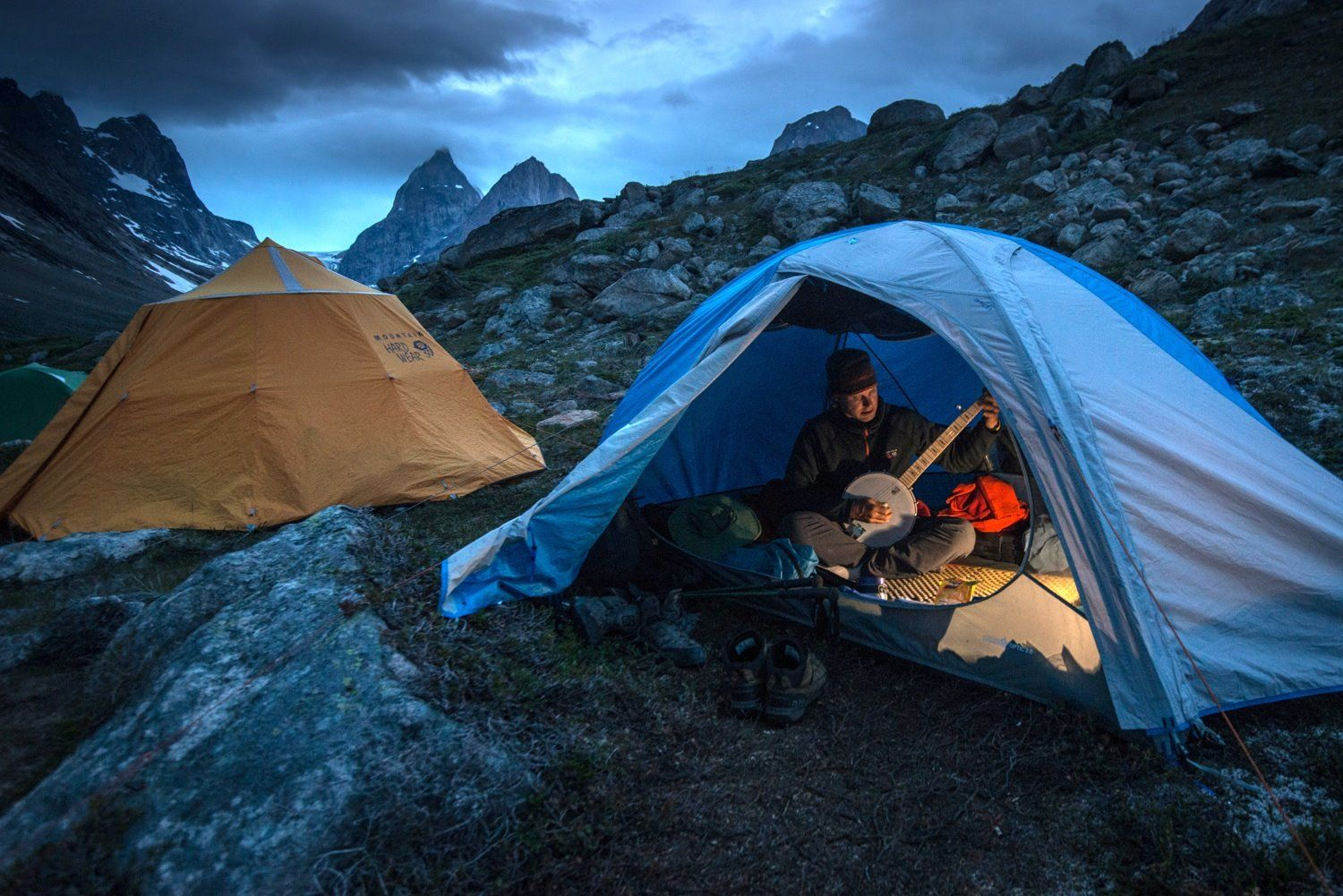 Mountain Hardwear athlete Mike Libecki waits out a storm in Greenland. Tent time isnu0027 & Mountain Hardwear athlete Mike Libecki waits out a storm in ...
