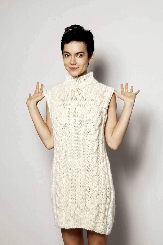 hand knitted dress - Google Search | gonne abiti lana | Pinterest ...