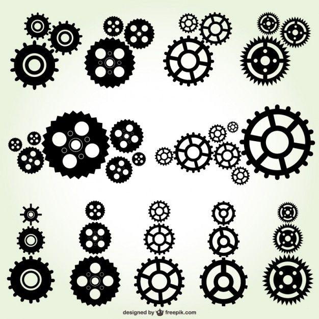Download Black Gears For Free Steampunk Design Steampunk Art Gear Tattoo