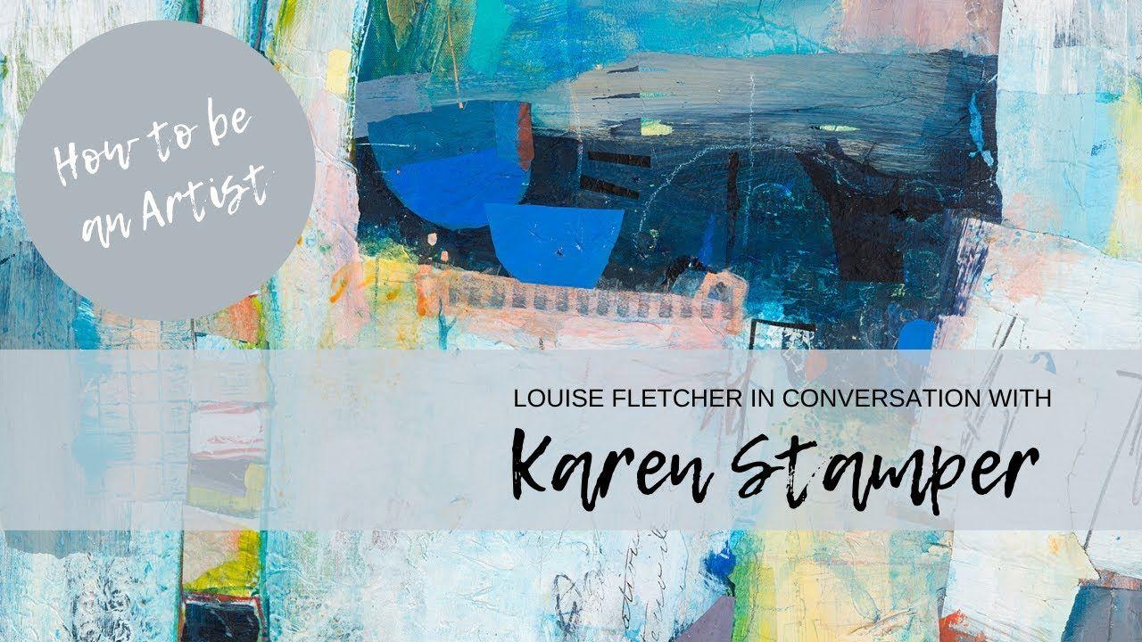 Karen stamper in conversation with louise fletcher in 2020