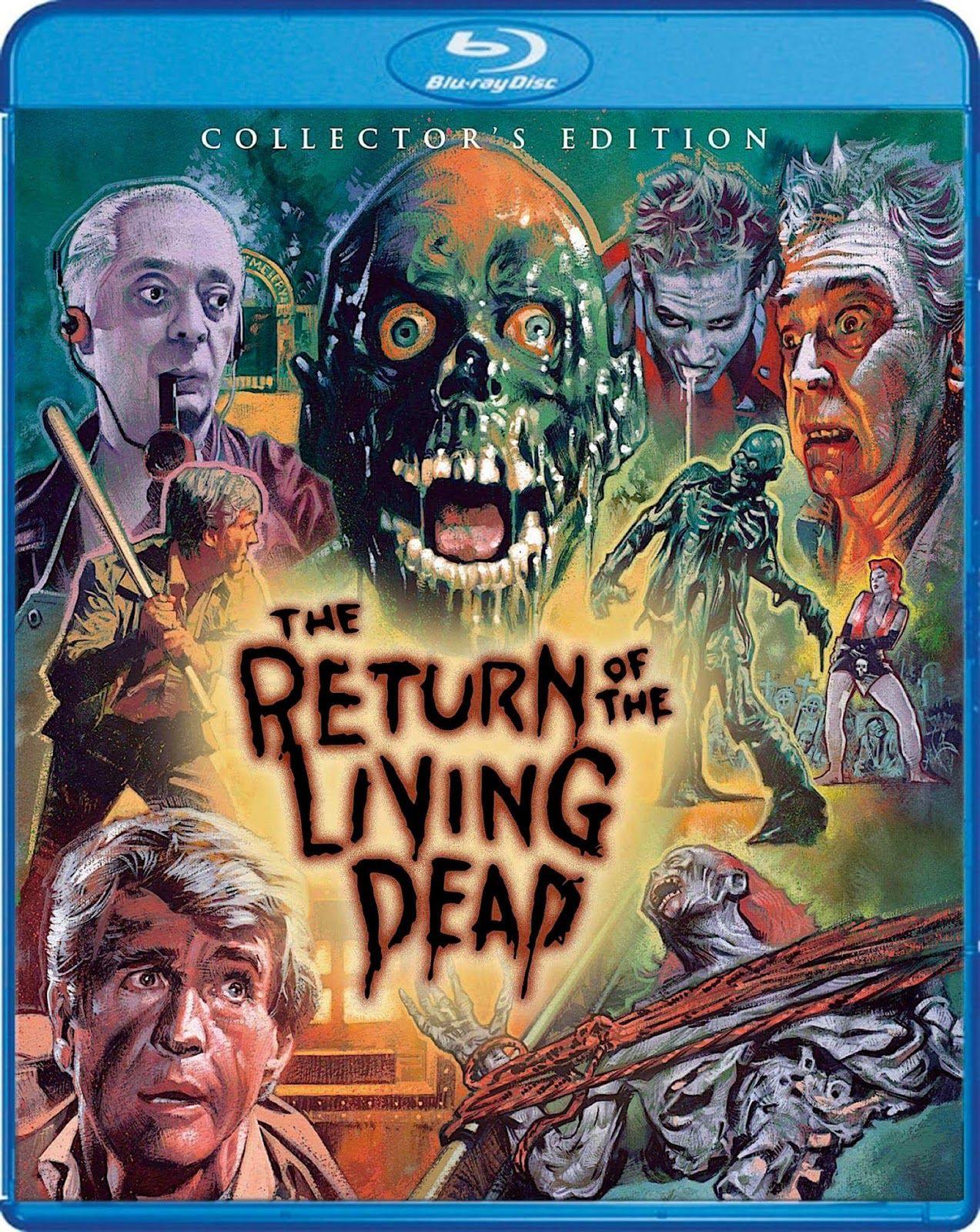 THE RETURN OF THE LIVING DEAD COLLECTOR'S EDITION SCREAM