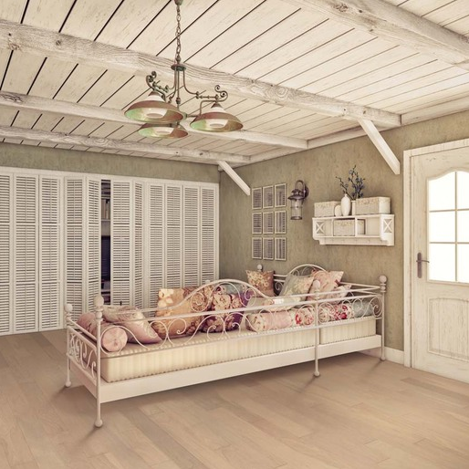 Blanched Almond Oak Vintage Light Hardwood Floors