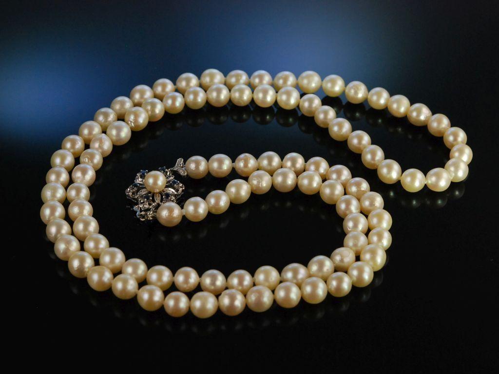 Perlenarmband Akoya-Zuchtperlen 585 Gold Filled