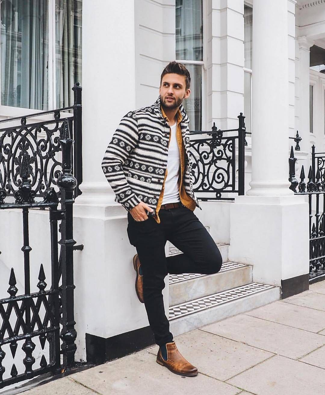 Mens outfits, Chelsea boots outfit, Fashion