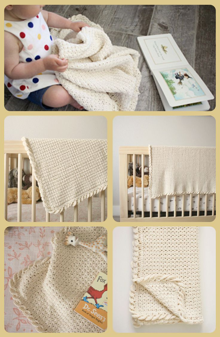 Pure Love Crochet Baby Blanket Pattern | Crochet | Pinterest
