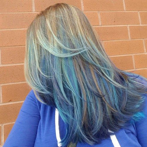 40 Fairy Like Blue Ombre Hairstyles Blue Ombre Hair Balayage