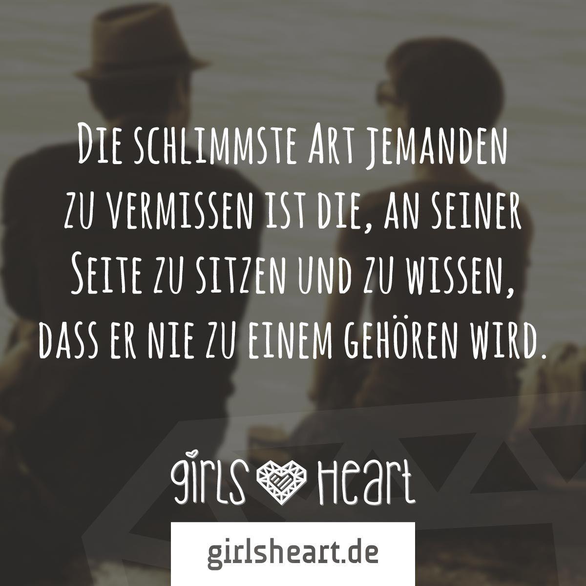 mehr sprüche auf: www.girlsheart.de #liebe #sehnsucht #vermissen