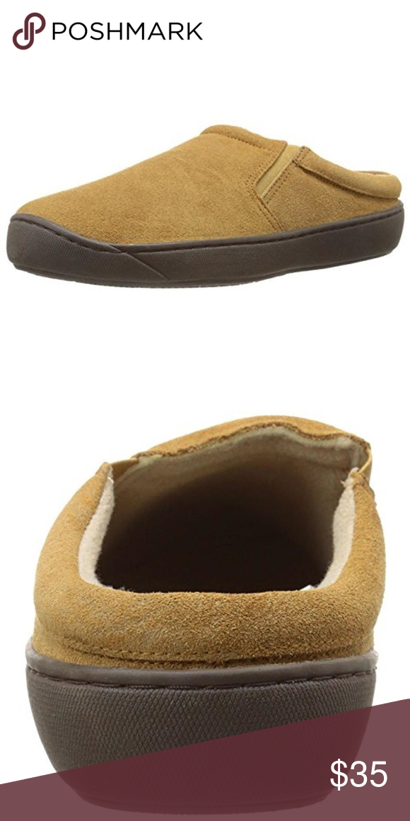 Best L B Evans Men Slipper Tan Suede Faux Fur Mule L B Evans 400 x 300