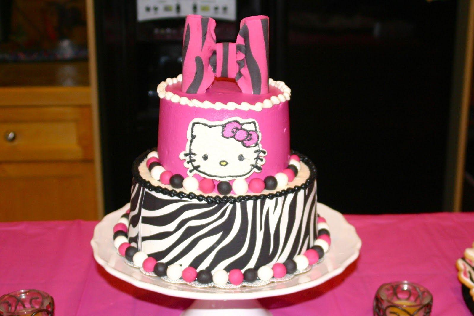 Hello kitty cake Hello kitty birthday cake, Walmart