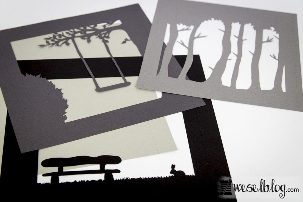 3d scherenschnitt bild plotter freebie cameo basteln mit papier - Silhouette cameo vorlagen ...
