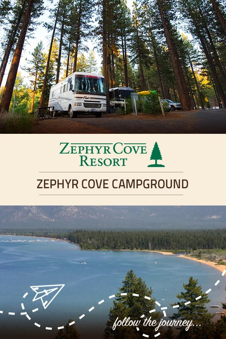 Bucket list camping - right on the shores of Lake Tahoe ...