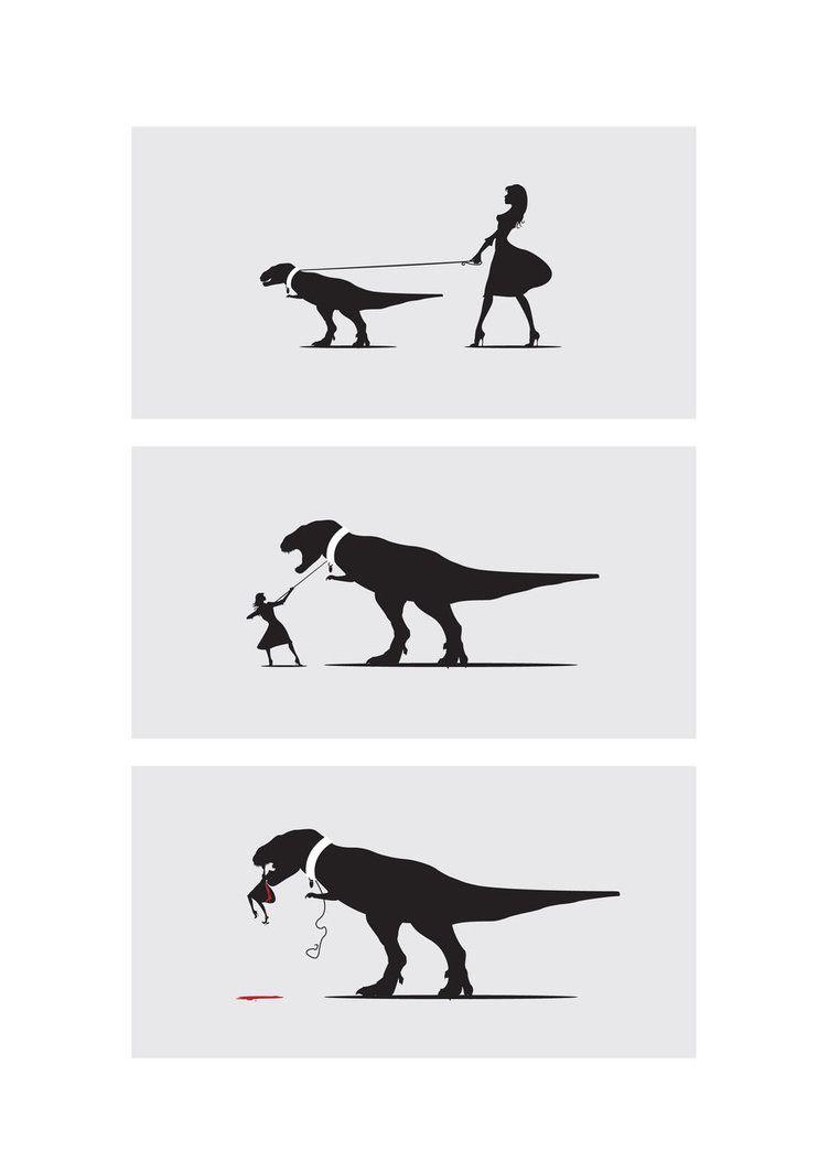Why T-rex does not make a good pet. | Dinosaurs | Pinterest | Bromas ...