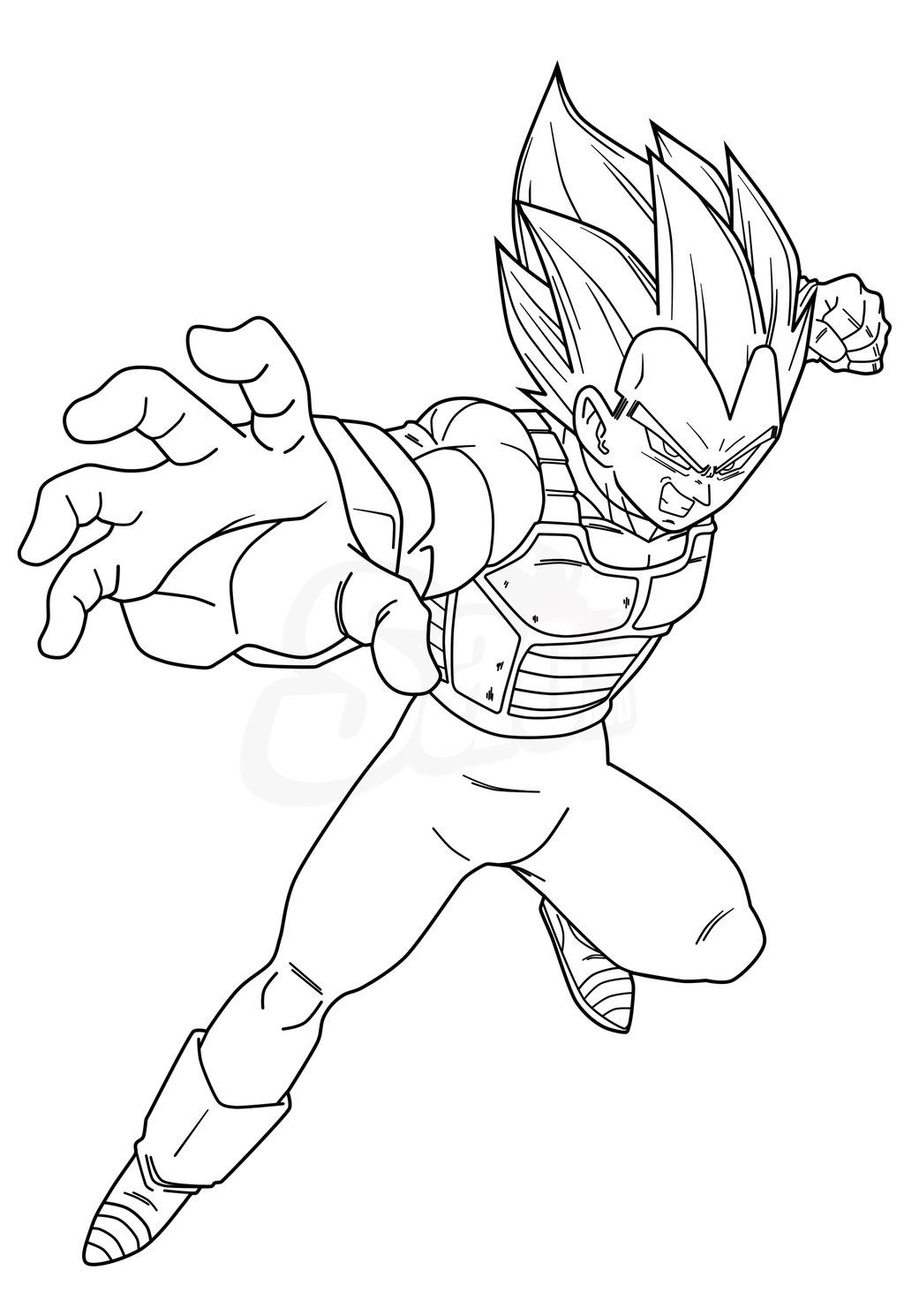 Vegeta Ssjb Lineart By Saodvd On Deviantart Dragon Ball Super Artwork Dragon Ball Super Art Dragon Ball Artwork