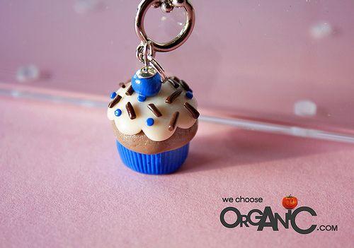 Schmuck basteln fimo  Basteln: Fimo Cupcake Schmuck | niner bakes | Basteln | Pinterest ...