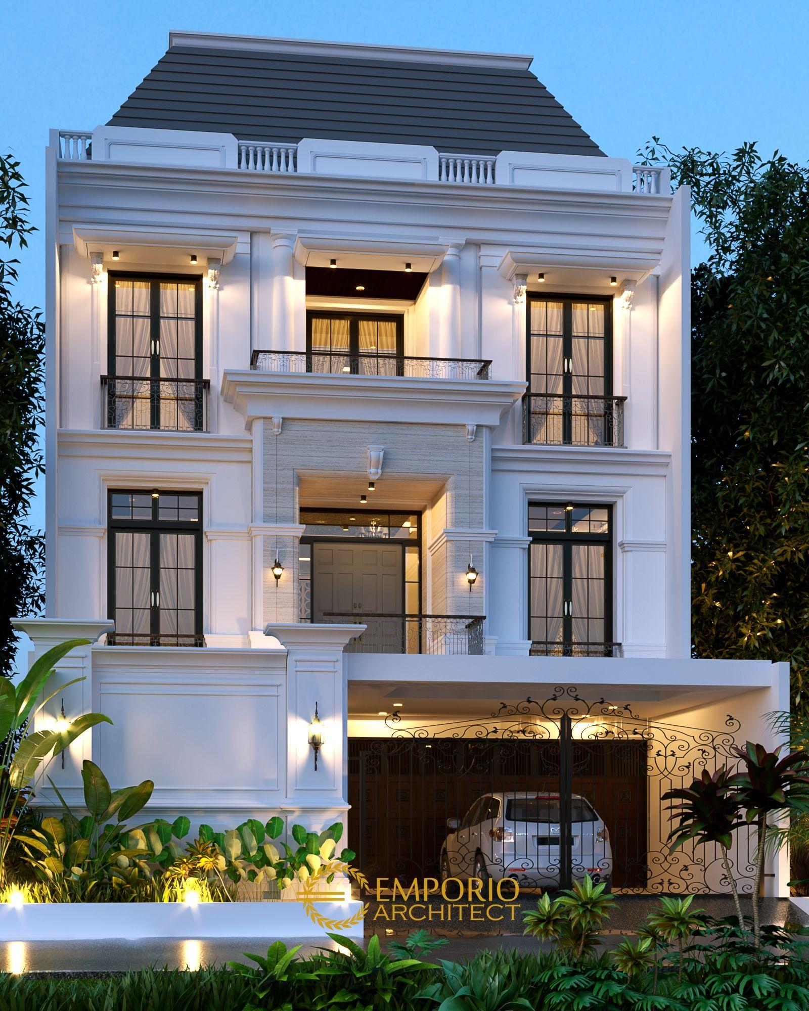 Jasa Arsitek Jakarta Desain Rumah Ibu Juli Desain Rumah Desain Eksterior Arsitektur
