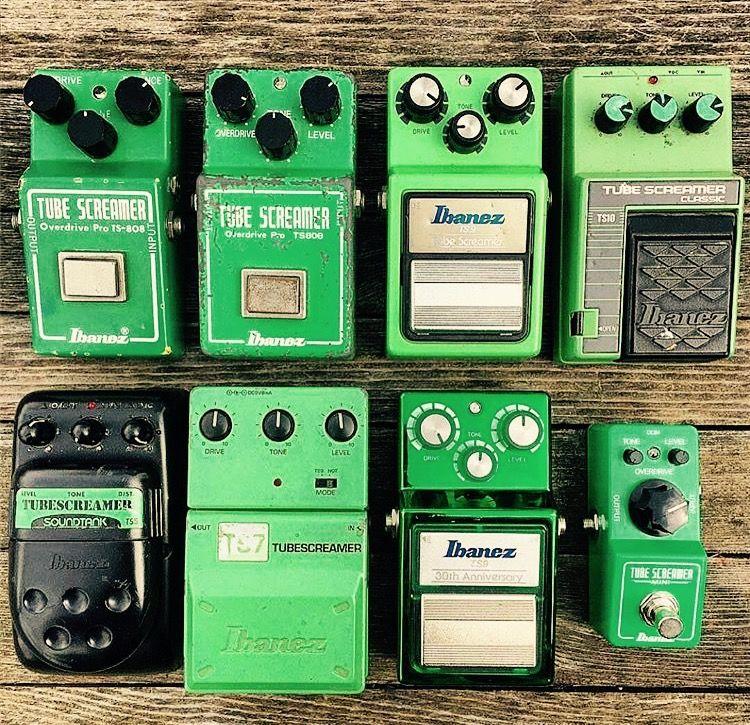 Tube screamer all things green Guitar pedals, Guitar