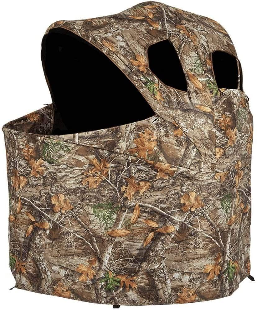 Ameristep Deluxe Tent Chair Blind In 2020 Ground Blinds Tent Chair Hunting Blinds
