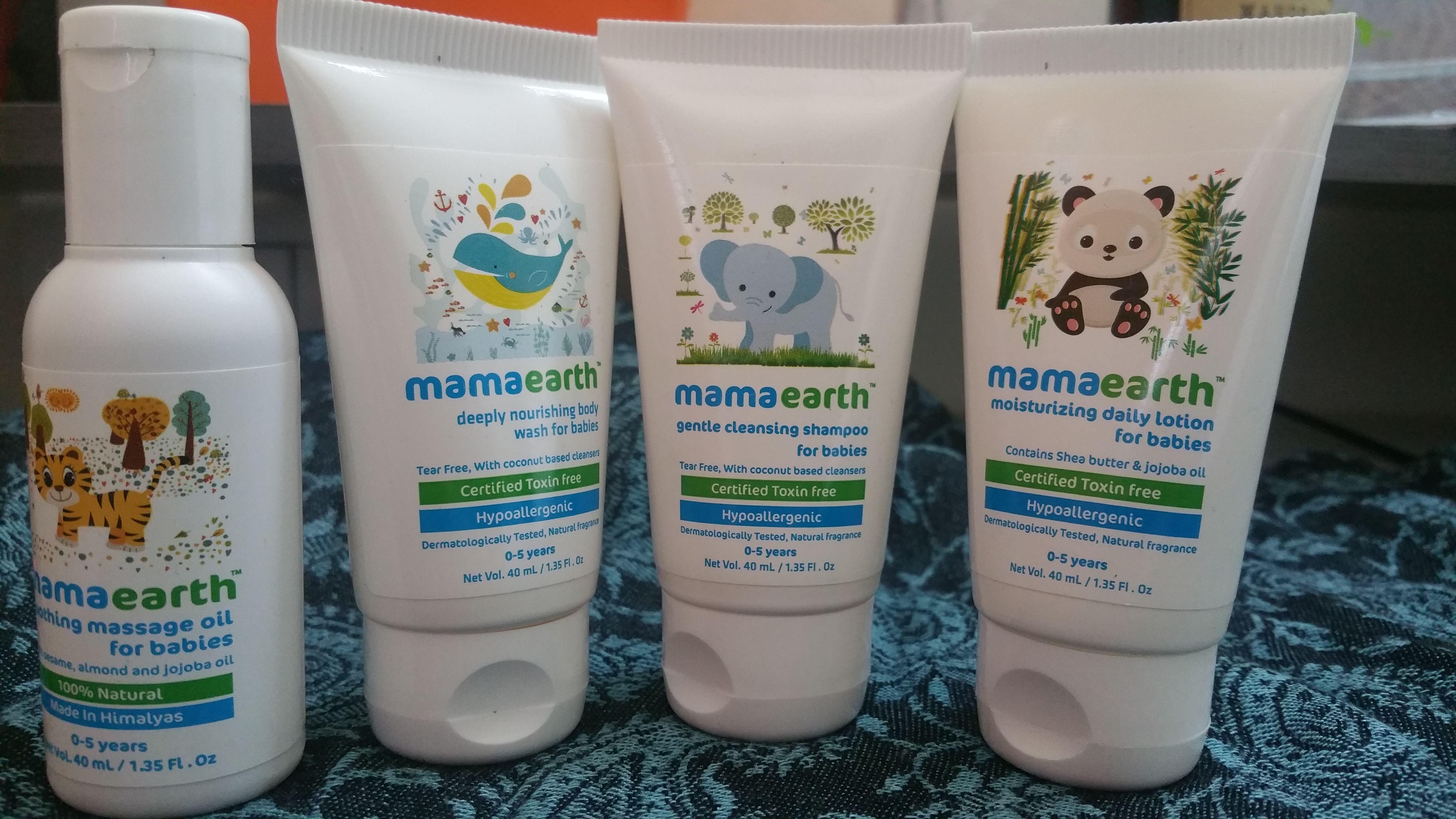 MAMAEARTH - chemical free baby products kit   Organic & Natural