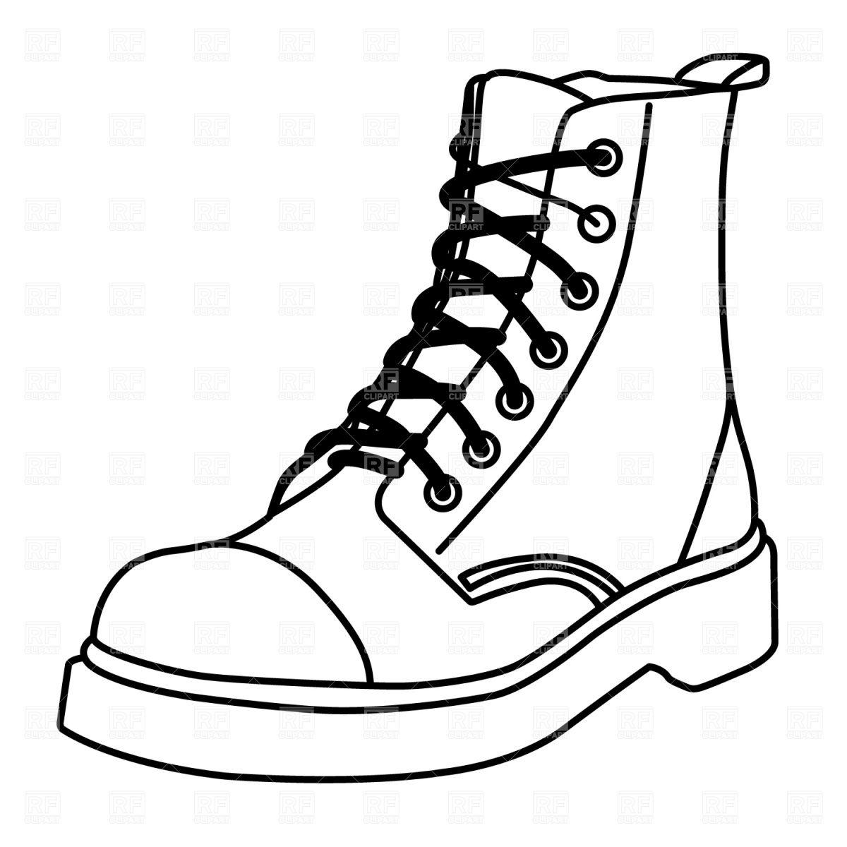 Trends For > Shoe Sole Outline Clip Art Shoes clipart