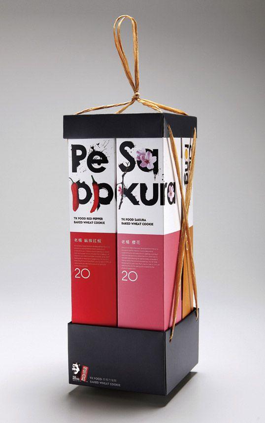 beautiful Taiwanese TK Food cookie packaging designs, by Victor ...