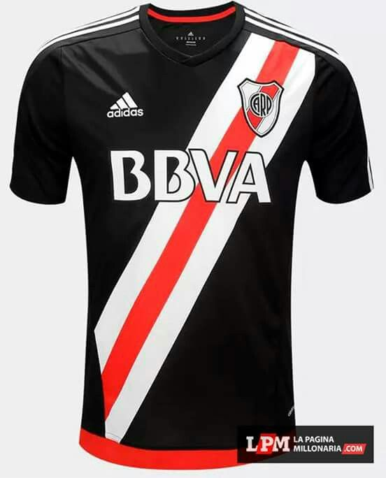 River Plate Season Fouth Black Soccer Jersey ac14767cdfbe9