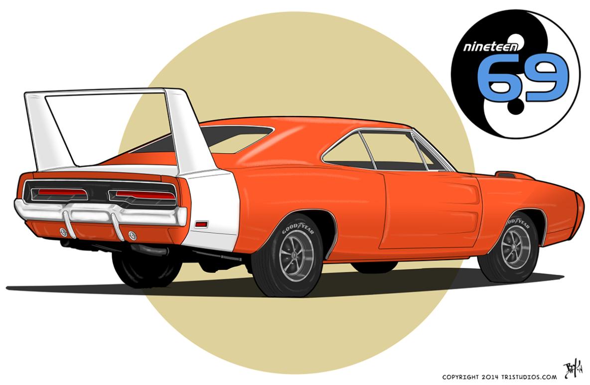 Classic Car Illustration Tr1 Studios Modarri Inspiration